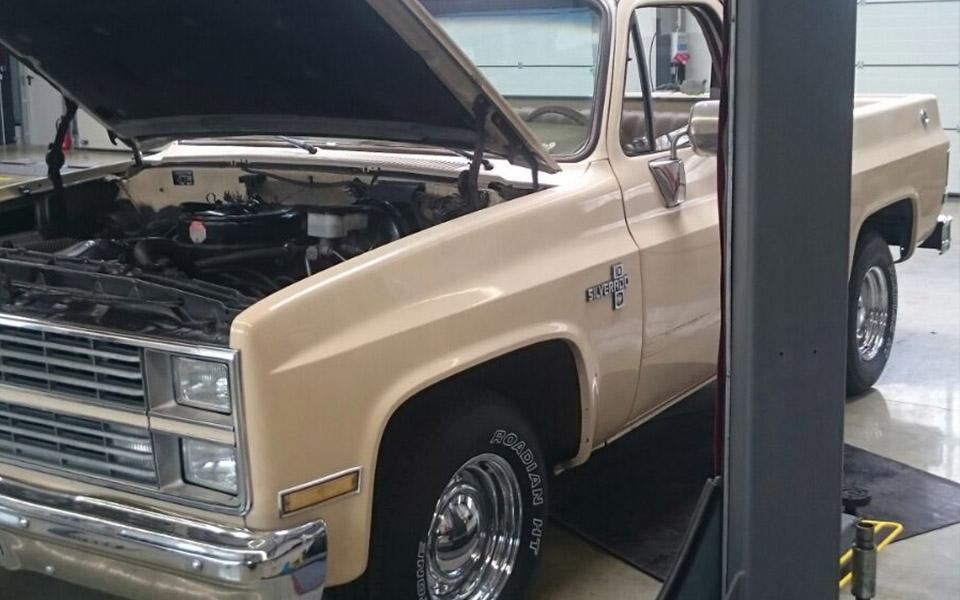 Motor des Chevy Silverado