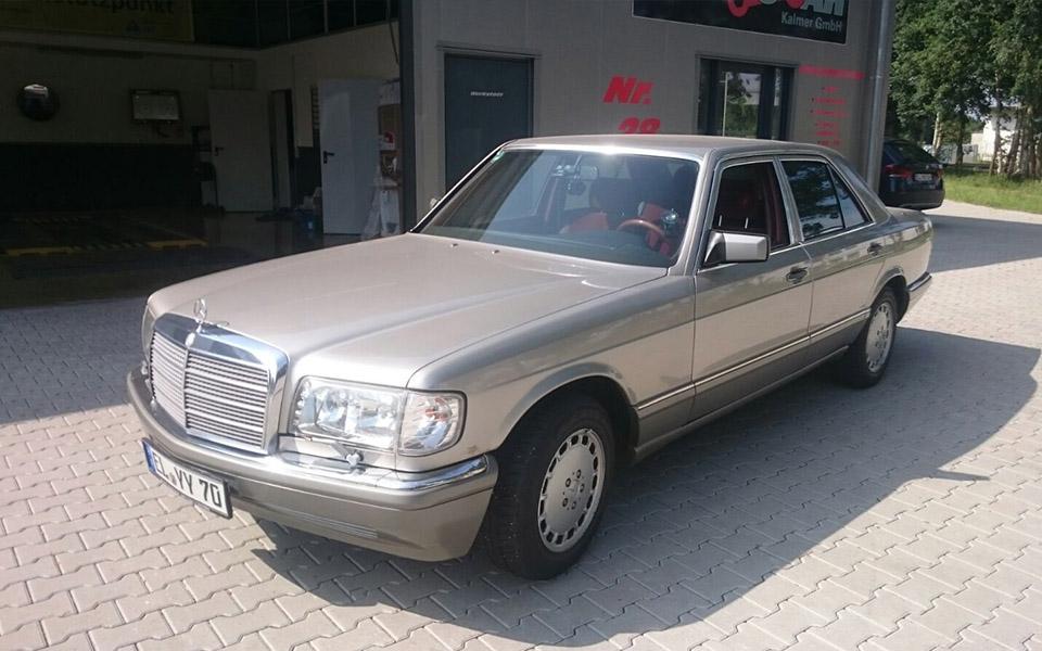 Mercedes W126 Von Vorne