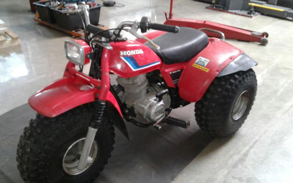 40 Jahre Alte Honda ATC