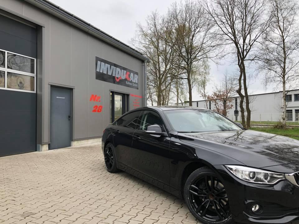 BMW 420D Reifenwechsel 2018