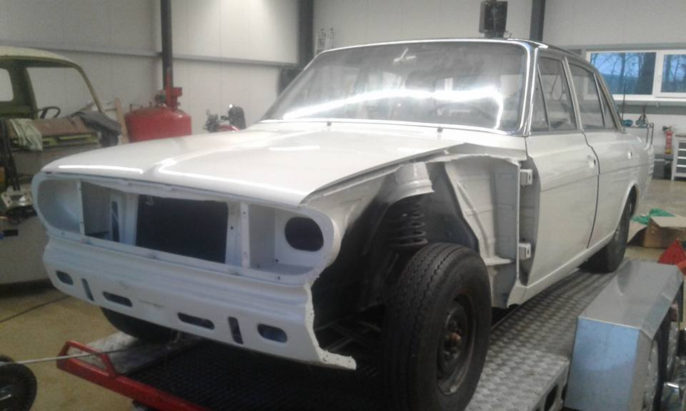 Ford 20M V6 Restauriert