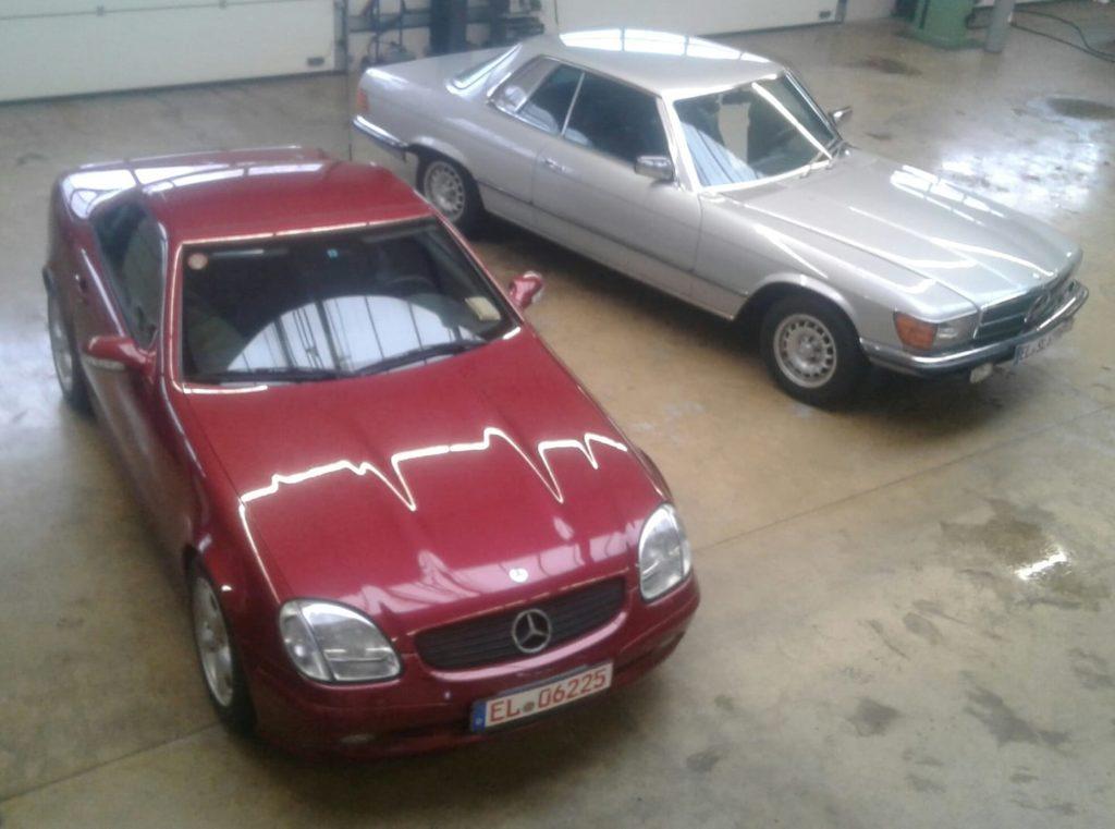 MB 280 SLC und MB R170 320 SLK