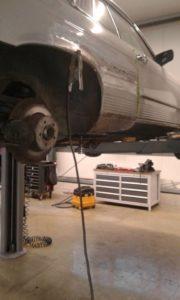 Reparatur Mercedes Benz 280 SLC