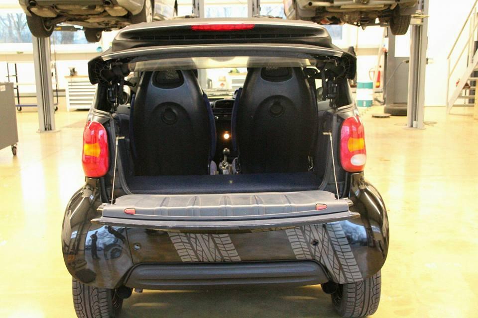 Smart Cabrio Neu Aufgebaut 2